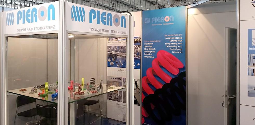 Die Pieron GmbH auf der Hannover Messe 2016