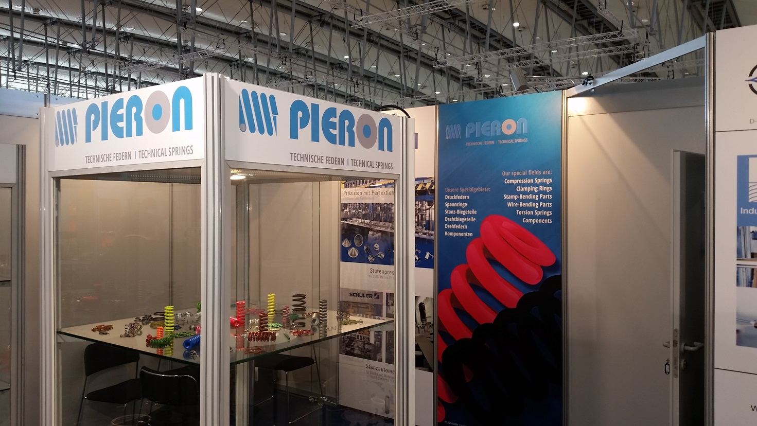 die pieron gmbh auf der hannover messe 2016 pieron gmbh. Black Bedroom Furniture Sets. Home Design Ideas