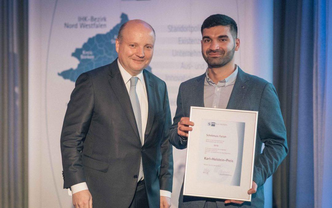 Zwei Bocholter erhalten den Karl-Holstein-Preis
