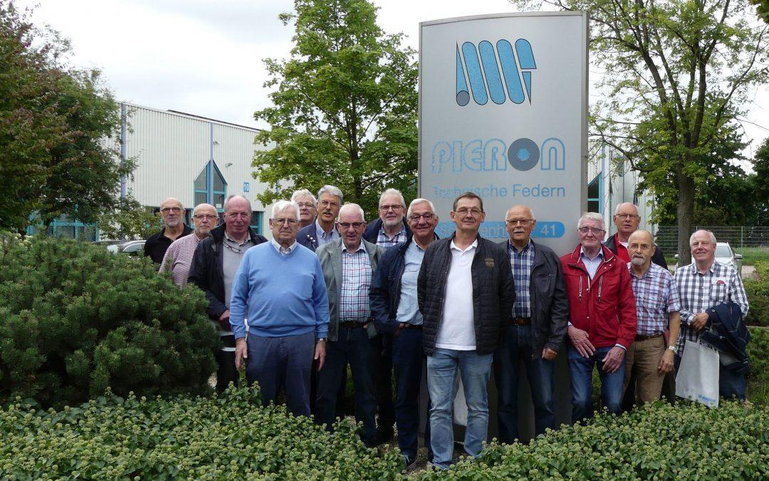 Verein Erlebnis Technik e. V. zu Besuch bei der Pieron GmbH